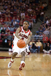 "29 December 2006: Keith ""Boo"" Richardson. The Salukis of Southern Illinois University beat the Redbirds 68-49 at Redbird Arena in Normal Illinois on the campus of Illinois State University.<br />"