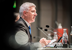 31 October 2018, Uppsala, Sweden: ACT Alliance general secretary Rudelmar Bueno de Faria. Plenary 7 of the ACT Alliance 2018 general assembly. In Plenary 7, the Public Statements Committee presented the ACT Assembly Message for adoption by the assembly, as well as a series of public statements.