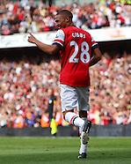 Arsenal v Southampton 150912