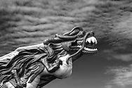Dragon Sculpture at Stanley Park, Vancouver
