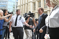 Sir Cliff Richard arriving at the High Court in London where he has been awarded more than £200,000 in damages after winning his High Court privacy battle against the BBC over its coverage of a police search of his home. in Sunningdale, Berkshire, in August 2014, following a child sex assault allegation.