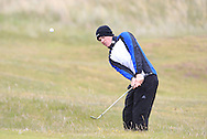 Stuart Grehan (Tullamore) on the 15th during Round 3 of the East of Ireland Amateur Open Championship at Co. Louth Golf Club, Baltray on Monday 1st June 2015.<br /> Picture:  Thos Caffrey / www.golffile.ie