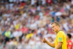 July 7, 2018 - Samara, Russia - 180707 Viktor Claesson of Sweden shows thumbs up during the FIFA World Cup quarter final match between Sweden and England on Jul 7, 2018 in Samara..Photo: Ludvig Thunman / BILDBYRÃ…N / kod LT / 92083 (Credit Image: © Ludvig Thunman/Bildbyran via ZUMA Press)