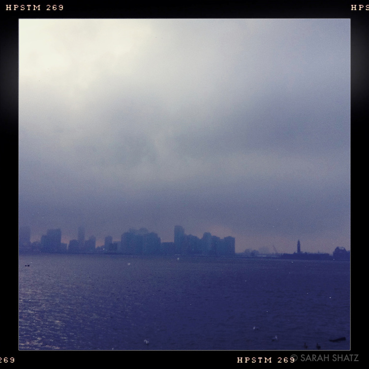 View of New Jersey from West Side Highway