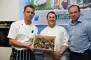 25/09/2016 Ian Mannix BIM, Oscar's Michael O'Meara award winning chef and author of 'Seafood Gastronomy' and Richard Donnelly BIM at the Galway International Oyster Festival Photo:Andrew Downes, XPOSURE.