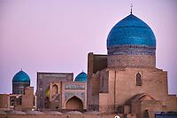 Ouzbekistan, Boukhara, patrimoine mondial de l Unesco, la mosquee Kalon, Madrasa Mir I Arab // Uzbekistan, Bukhara, Unesco world heritage, Kalon mosque, Madrasah Mir I Arab
