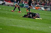 Bayer 04 Leverkusen´s Bellarabi during the UEFA Champions League round of 16 second leg match between Atletico de Madrid and Bayer 04 Leverkusen at Vicente Calderon stadium in Madrid, Spain. March 17, 2015. (ALTERPHOTOS/Victor Blanco)