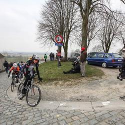 Sportfoto archief 2013<br /> Omloop Het Nieuwsblad women Ellen van Dijk on the Paterberg
