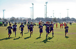 06 December 2015. Missouri City, Texas. <br /> Eclipse Soccer Club, 8th Annual Academy Cup - Toby Lazor Classic.<br /> New Orleans Jesters Youth Academy U10 Green 2 v  Liverpool FC America Liverpool 07. <br /> Jesters 1 - Liverpool 1.<br /> Photo©; Charlie Varley/varleypix.com