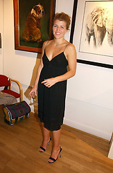 AMBER NUTTALL at an exhibition of art by Sam Sopwith held at 27 Cork Street, London W1 on 23rd May 2006.<br /><br />NON EXCLUSIVE - WORLD RIGHTS