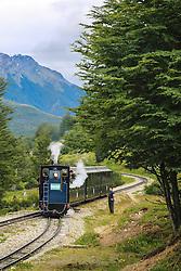 Passeio turístico no Trem do Fim do Mundo - Ushuaia,  Patagônia. FOTO: Jefferson Bernardes/ Agência Preview