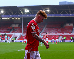 Jack Colback of Nottingham Forest limps off with an injury - Mandatory by-line: Nick Browning/JMP - 29/11/2020 - FOOTBALL - The City Ground - Nottingham, England - Nottingham Forest v Swansea City - Sky Bet Championship