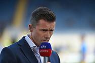 Former Leeds United player , now Sky Sports presenter, David Prutton during the EFL Sky Bet League 1 match between Oxford United and Coventry City at the Kassam Stadium, Oxford, England on 9 September 2018.