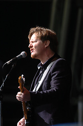 Steven Lindsay on the main stage, the Connect festival in Inveraray.<br /> ©Pic : Michael Schofield.
