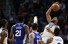 Philadelphia 76ers vs Minnesota Timberwolves - 12 December 2017