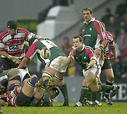 Leicester, England, UK., Welford Road Stadium,  03.01.2004, [Mandatory Credit:Peter Spurrier/Intersport Images],<br />  <br /> <br /> 03/01/2004 - Photo  Peter Spurrier<br /> 2003/04 Zurich Rugby Premiership Leicester v Gloucester<br /> Austin Healey