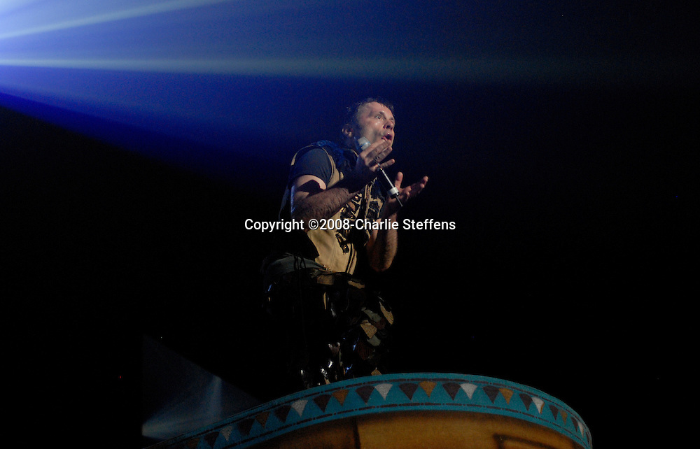 Bruce Dickinson<br /> February 19, 2008<br /> Iron Maiden<br /> The Forum<br /> Inglewood, California