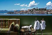 Terrasse marocaine  du café des palmes pendant le Festival de Cannes