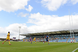 A general view of Sandy Park during the France v Romania game at the European 7s Grand Prix Series - Photo mandatory by-line: Dougie Allward/JMP - Mobile: 07966 386802 - 11/07/2015 - SPORT - Rugby - Exeter - Sandy Park - European Grand Prix 7s