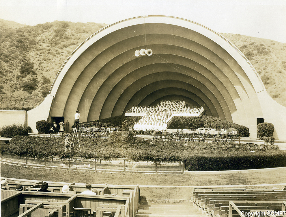 1934 Easter Sunrise Service at the Hollywood Bowl