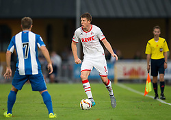 22.07.2015, Grenzland Stadion, Kufstein, AUT, Testspiel, 1. FC Köln vs RCD Espanyol Barcelona, im Bild v.l. Franciso Montanas Clavarias (Espanyol Barcelona), Dominique Heintz (1. FC Koeln) // during the International Friendly Football Match between 1. FC Cologne and RCD Espanyol Barcelona at the Grenzland Stadion in Kufstein, Austria on 2015/07/22. EXPA Pictures © 2015, PhotoCredit: EXPA/ Johann Groder