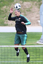 March 20, 2018 - Lisbon, Lisbon, Portugal - Portugal defender Bruno Alves during training session at Cidade do Futebol training camp in Oeiras, outskirts of Lisbon, on March 20, 2018 ahead of the friendly football match in Zurich against Egypt on March 23. (Credit Image: © Dpi/NurPhoto via ZUMA Press)