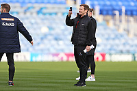 Football - 2019 / 2020 Emirates FA Cup - Second Round: Portsmouth vs. Altrincham<br /> <br /> The Altrincham players film there on pitch walk before the during the FA Cup match at Fratton Park<br /> <br /> COLORSPORT/SHAUN BOGGUST