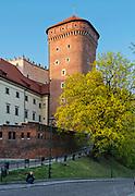 Baszta Senatorska na Zamku Królewskim na Wawelu, Kraków, Polska<br /> Senator Tower at Wawel Royal Castle, Cracow, Poland