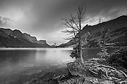 St Mary Lake, Glacier National Park, Montana.