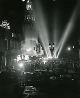 1943 Premiere at the Carthay Circle Theater
