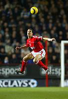 Fotball<br /> Premier League 2004/05<br /> Charlton v Everton<br /> 28. desember 2004<br /> Foto: Digitalsport<br /> NORWAY ONLY<br /> Charlton Athletic's defender Talal El Karkouri clears the ball