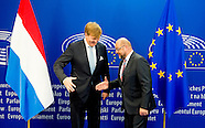 KING WILLEM ALEXANDER VISITS EUROPEAN UNION IN BRUSSELS