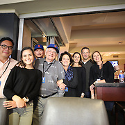 Matt Harvey's family during the New York Mets Vs Los Angeles Dodgers, game three of the NL Division Series at Citi Field, Queens, New York. USA. 12th October 2015. Photo Tim Clayton for The Players Tribune