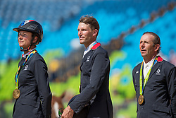 Leprevost Penelope, Staut Kevin, Rozier Philippe, FRA<br /> Olympic Games Rio 2016<br /> © Hippo Foto - Dirk Caremans<br /> 17/08/16