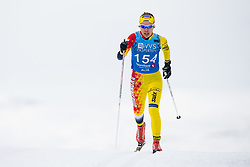 April 6, 2018 - Alta, NORWAY - 180406 Margrethe Bergane competes in the Women's 5 km Classic during the Norwegian Championship on April 6, 2018 in Alta..Photo: Jon Olav Nesvold / BILDBYRÃ…N / kod JE / 160235 (Credit Image: © Jon Olav Nesvold/Bildbyran via ZUMA Press)
