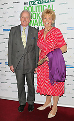 © Licensed to London News Pictures. 19/03/2014, UK. Neil Hamilton; Christine Hamilton, Political Book Awards, BFI IMAX, London UK, 19 March 2014. Photo credit : Richard Goldschmidt/Piqtured/LNP