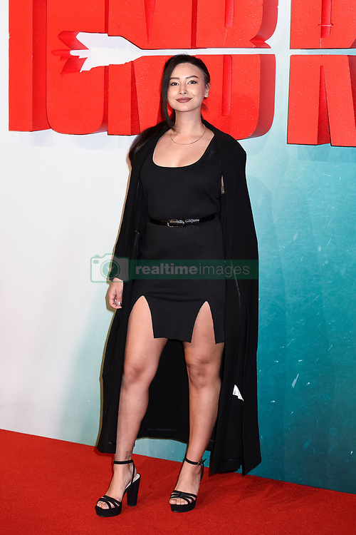 Leah Weller attends the Tomb Raider European Premiere at the Vue West End, London.  Picture date: Tuesday 6th March 2018.  Photo credit should read:  David Jensen/ EMPICS Entertainment