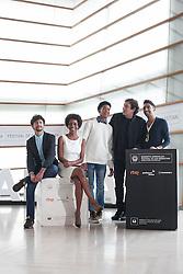 23.09.2015, Madrid, San Sebastian, ESP, San Sebastian International Film Festival, im Bild Movie director Agusti Villaronga and actors Jazz Vila, Maykol David Tortolo, Yordanka Ariosa and Hector Medina pose during `El rey de la Habana´ film presentation // during the San Sebastian International Film Festival in Madrid in San Sebastian, Spain on 2015/09/23. EXPA Pictures © 2015, PhotoCredit: EXPA/ Alterphotos/ Victor Blanco<br /> <br /> *****ATTENTION - OUT of ESP, SUI*****