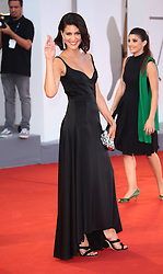 Giulia Bevilacqua walks the red carpet ahead of the 'The Shape Of Water' screening during the 74th Venice Film Festival in Venice, Italy, on August 31, 2017. (Photo by Matteo Chinellato/NurPhoto/Sipa USA)