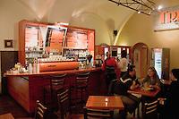 Inside the Tribeca Cafe in Krakow Poland
