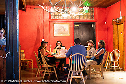 A Mexican nearby restaurant during the Run to Raton. Raton, NM. USA. Saturday July 21, 2018. Photography ©2018 Michael Lichter.