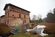 A watermill in Uckermärkische Seen Natural park, Brandenburg, Germany.