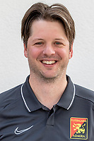 Download von www.picturedesk.com am 16.08.2019 (14:00). <br /> MARIA ENZERSDORF, AUSTRIA - JULY 16: Team doctor Michael Anderl of Admira during Team photo shooting - FC Flyeralarm Admira at BSFZ Arena on July 16, 2019 in Maria Enzersdorf, Austria.190716_SEPA_13_064 - 20190716_PD12324