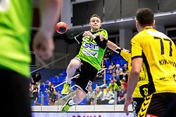 27.04.2018, BSFZ Suedstadt, Maria Enzersdorf, AUT, HLA, SG INSIGNIS Handball WESTWIEN vs Bregenz Handball, Viertelfinale, 1. Runde, im Bild Olafur Bjarki Ragnarsson (SG INSIGNIS Handball WESTWIEN) // during Handball League Austria, quarterfinal, 1 st round match between SG INSIGNIS Handball WESTWIEN and Bregenz Handball at the BSFZ Suedstadt, Maria Enzersdorf, Austria on 2018/04/27, EXPA Pictures © 2018, PhotoCredit: EXPA/ Sebastian Pucher