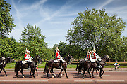 Changing of the Guard, London. Shot for residential brochure. Canon 5d MKII 70-200mm IS L Lens. 1/60 f13