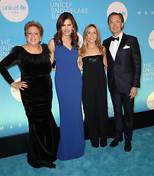 Caryl M. Stern, Desiree Gruber, Sheryl Crow and Kyle MacLachlan at the UNICEF USA's 14th Annual Snowflake Ball in New York City.