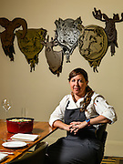 36100 Louisvile, Ky. - Dec. 18, 2014 - Decca Restaurant Executive Chef and Owner Annie Pettry poses for a portrait. <br /> <br /> William DeShazer for the Wall Street Journal
