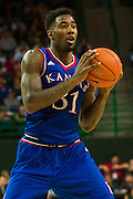 WACO, TX - JANUARY 7: Jamari Traylor #31 of the Kansas Jayhawks brings the ball up court against the Baylor Bears on January 7, 2015 at the Ferrell Center in Waco, Texas.  (Photo by Cooper Neill/Getty Images) *** Local Caption *** Jamari Traylor