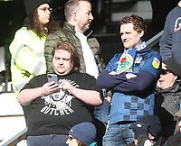 Blackburn Rovers Fans<br /> <br /> Photographer Mick Walker/CameraSport<br /> <br /> The EFL Sky Bet Championship - Derby County v Blackburn Rovers - Sunday 8th March 2020  - Pride Park - Derby<br /> <br /> World Copyright © 2020 CameraSport. All rights reserved. 43 Linden Ave. Countesthorpe. Leicester. England. LE8 5PG - Tel: +44 (0) 116 277 4147 - admin@camerasport.com - www.camerasport.com