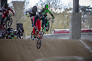 #63 (VANKAMMEN Zachary) USA at Round 2 of the 2018 UCI BMX Superscross World Cup in Saint-Quentin-En-Yvelines, France.